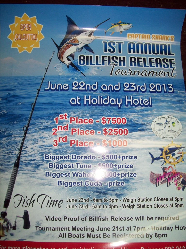 1st Annual Bill Fish Release Tournament